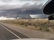 Cloud like tornado