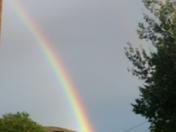 Welcome home rainbow