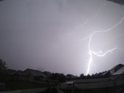 Lightning from Overnight Storm