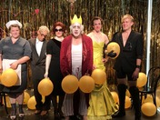 Actors' Shakespeare Project EXIT THE KING Cast Wake up Eyeopener