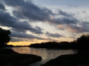 Sunrise from English Landing Park, Parkville Missouri