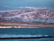Sunset Colors on Bylot Island