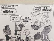 Halloween Weatherman Joke