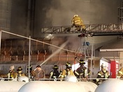 Grain Dryer Fire At Mark Hershey Farms