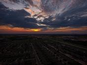 sunrise and sunset