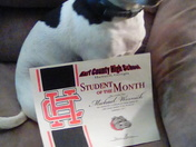 MY DOG IS DOG OF THE DOG MONTH