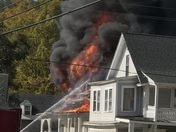 House Fire in Lisbon NH