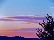 sunset clouds, 10-6-2017