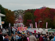 Cloudy bu dry weather at the Sandwich Fair! Food, fun and lots of animals!