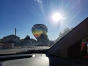 Balloon Landing in South Valley