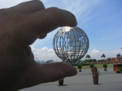 The world in my hand
