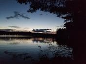Norway Lake at Sunset