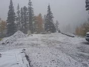 October snow in taos