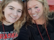 Autumn & I @ NU vs Wisconsin