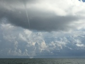 Water Spout Off Jupiter Inlet