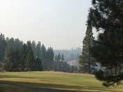Smoky skies, before and after the fires Plumas County.