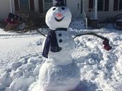 Snowman from Delaware fans!