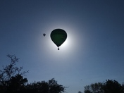 Balloon eclipse