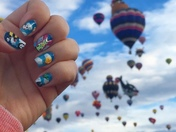 Balloon Fiesta Nail Art