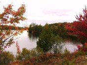 Fall on Spence Lake