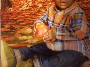 Brayden 1st Fall Daycare Picture