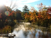 Fall Morning on Little Squam Lake