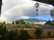 Rainbow in the foothills