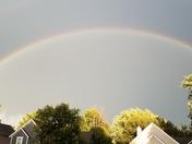 Double rainbow in Stanley, KS