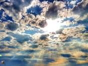 Sunlight kaleidoscope.