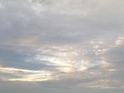 Morning sky over Excelsior Springs