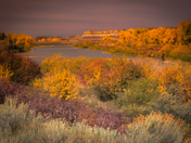Fall in the Badlands