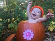 Ms. Violet is the sweetest pumpkin ever!!!