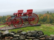 Wagon on the hill