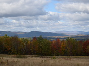 A view of the White Mountains on a beautiful Fall day