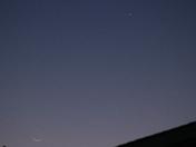 Thin,Crescent Moon,Venus.