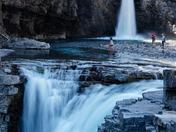 Crescent Falls - Nordegg