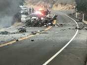 Bossy 1 crash near polocolrado canyon