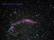 The NGC 6992 Eastern Veil Nebula & NGC7000 North America Nebula