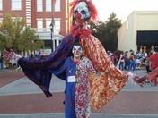 Halloween 🎃 costume contest killer clown 🤡