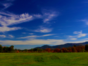 Still some good leaf peeping in the Lakes Region! Sandwich, NH
