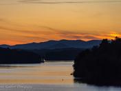 Sunset at W. Kerr Scott Lake, Wilkes County, NC