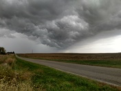 Storm near perry ks