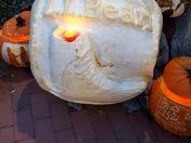 LLBean pumpkin festival for Camp Sunshine