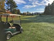 Leaf Peeping and Golf in Peterborough