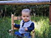 First birthday October 24th Alijah Ethan  Muller