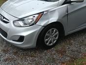 Oak limb damages car during storm
