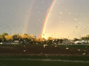 Double Rainbow in Mt Airy NC