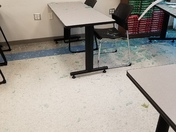Shattered Glass from tornado