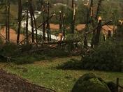 Probable tornado in Wilkesboro