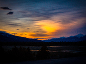 Jasper Rockies Sunset